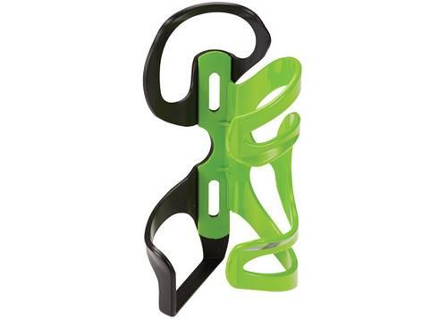 Держатель фляги Cannondale NYLON SSL (под левую руку) черный/зеленый
