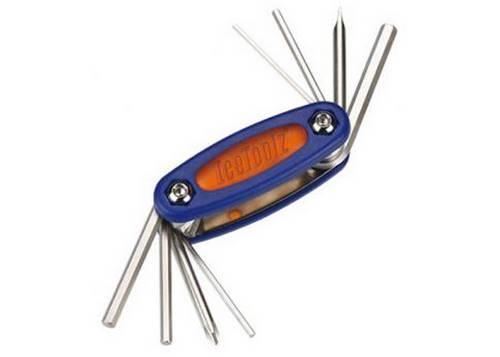 Ключ ICE TOOLZ 97A3 складной 8 инструментов Mighty 8