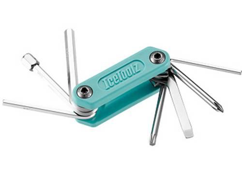 Ключ ICE TOOLZ Sportive-8 складной, нержавеющая сталь