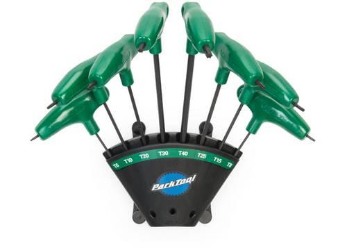 Набор торксов Park Tool с Р-рукоятками, 8шт (T6, T8, T10, T15, T20, T25, T30 и T40)