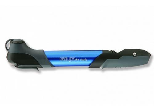 Мининасос Green Cycle GPM-196 алюминиевый, presta+schreder, синий