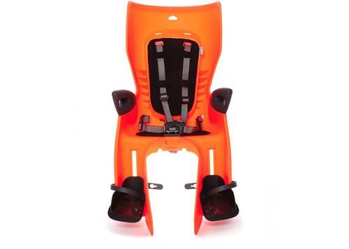 Сиденье задн. Bellelli Summer Standart B-fix до 22кг, оранжевое с черной подкладкой