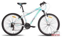 Велосипед 26 PRIDE BIANCA 2014 бело-бирюзовый