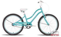 Велосипед 24 PRIDE Sophie 2014 бирюзово-белый