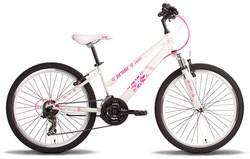 Велосипед 24 PRIDE LANNY 2014 бело-розовый