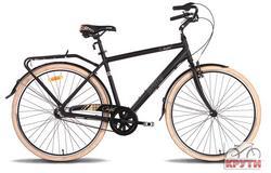 Велосипед 28 PRIDE COMFORT MAN 18 черно-бежевый