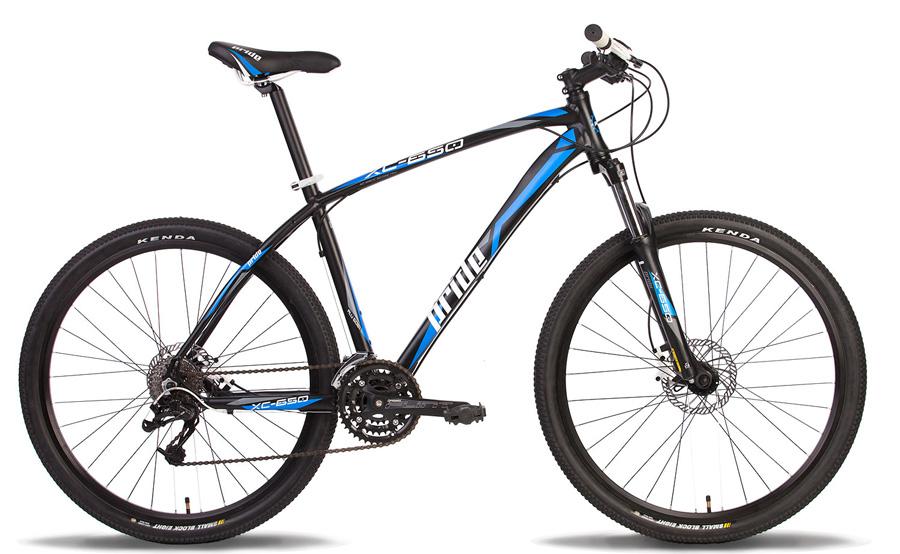 Велосипед 27.5 PRIDE XC-650HD 21 2014 черно-синий